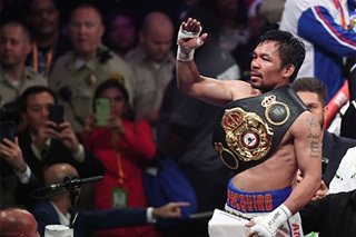 Boxing: Roach backs Pacquiao to destroy McGregor