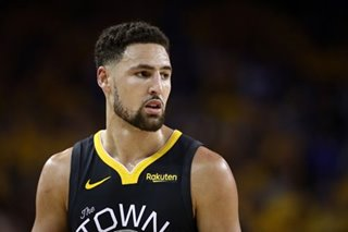 NBA: Warriors' Thompson says torn ACL 'most tragic part of sports'