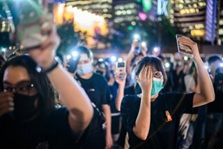 HK students join protests