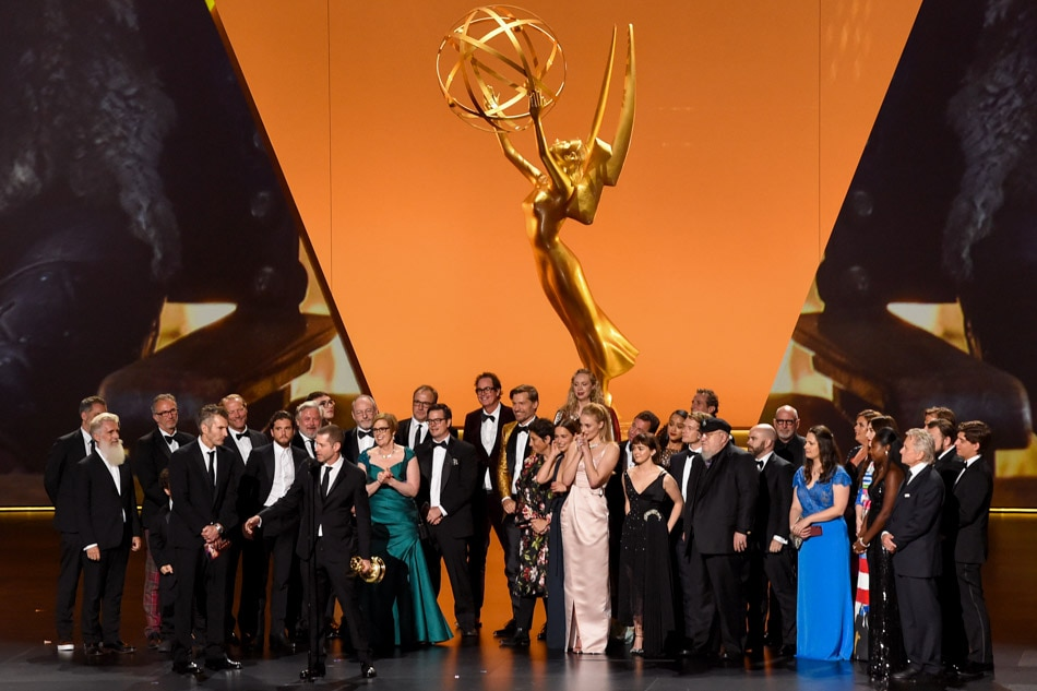 'Game of Thrones' named best drama at Emmys