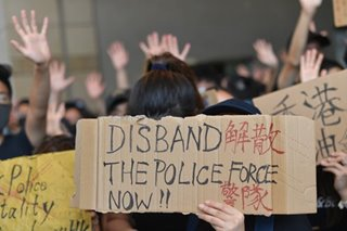 Anger over HK protest shooting
