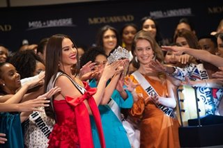 Miss Universe unveils 'Power of Unity' crown