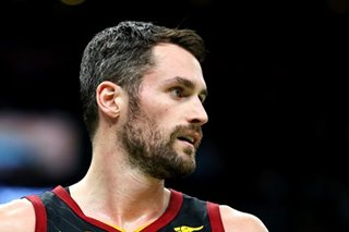 NBA: Kevin Love lifts Cavs over Spurs in OT