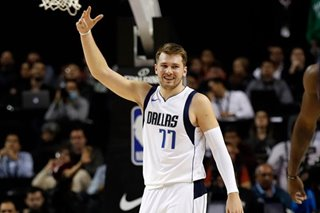 Doncic's triple-double lifts Dallas over Detroit