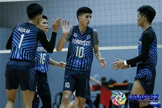 UAAP: Adamson upsets NU in boys' volleyball
