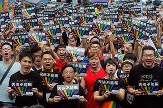 Tolerance towards LGBT+ people seen rising globally