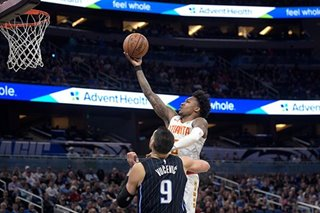 NBA: Hawks rally past Magic, end 10-game skid