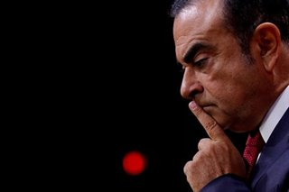 Nissan's Ghosn says he is innocent in first appearance since arrest