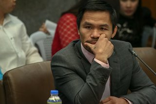 Pacquiao pushes for tobacco tax hike bill before Senate break