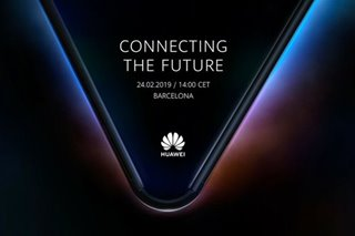 Huawei teases phone with foldable display coming in February