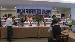 Rice industry groups urge Duterte to veto rice tariff bill