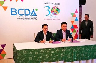 Megaworld, BCDA to manage Bonifacio Capital District in Taguig