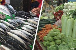 Presyo ng seafood, gulay umakyat sa Lunes Santo