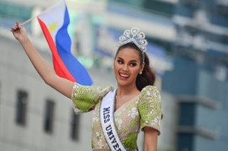 Seeking 'A' credit crown, Philippines looks to Miss Universe Catriona Gray