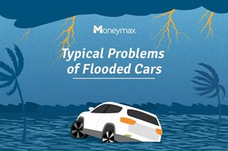 Typical problems of flooded cars