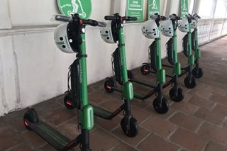 Grab to pilot e-scooters in Intramuros, offers free rides for 3 months