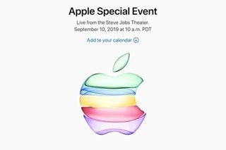 New iPhones coming: Apple announces Sept. 10 event