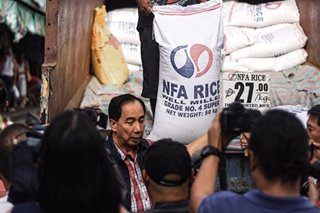 Agri chief checks rice prices at Commonwealth market