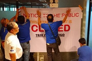Tax bureau shuts 2 branches of POGO service provider