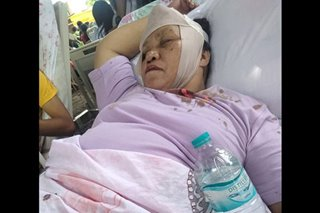 VIRAL: Guro, sugatan matapos protektahan ang mga mag-aaral sa lindol sa Cotabato