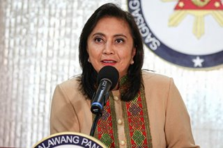 Less violent drug war? Go fears Robredo will 'baby' drug lords