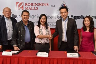 Gov't service centers coming to 3 Robinsons Malls in Quezon City