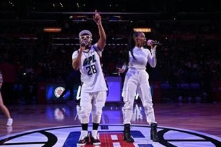 WATCH: apl.de.ap performs during Clippers' Filipino Heritage Night