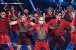 'World of Dance': Dance group rocks stage with fierce performance