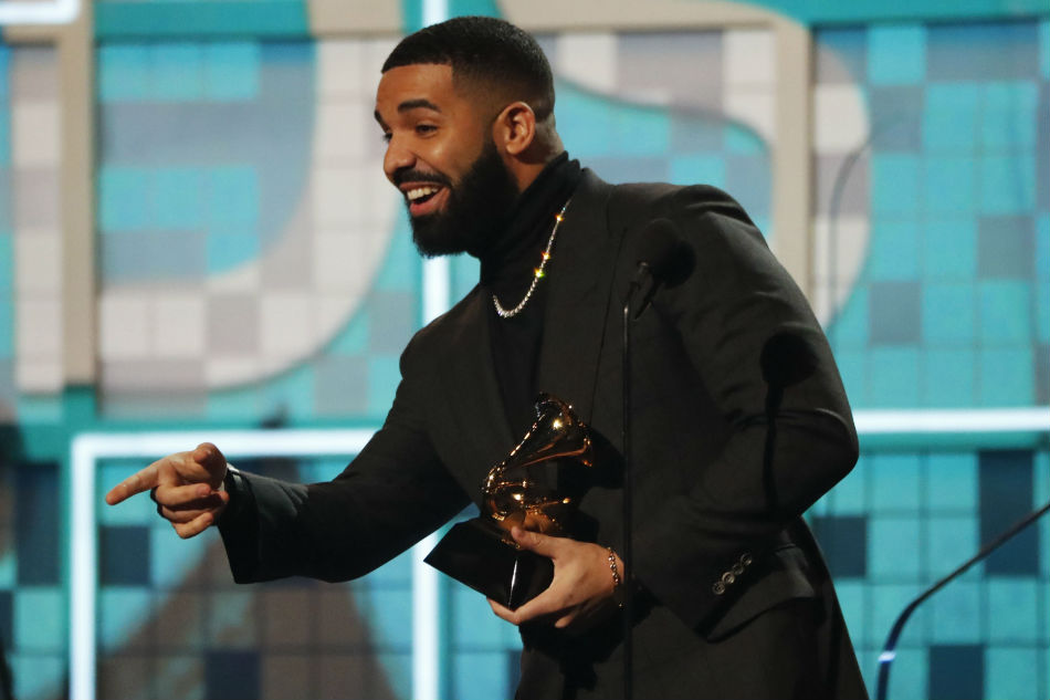Drake wins Best Rap Song for 'God's Plan.' Mike Blake Reuters