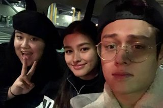 Enrique gushes about Liza's relationship with his younger sister