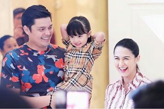 LOOK: Dingdong, family throw surprise baby shower for Marian
