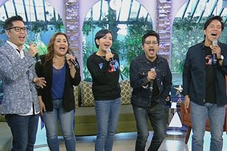 'Dirty Old Musical' stars perform on 'UKG'