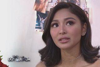 WATCH: Emotional Nadine credits James for 'healing'