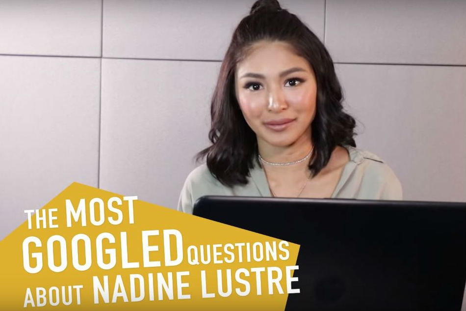 WATCH: Nadine answers most Googled questions about her