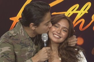 Daniel tells Kathryn: 'I love you very much'