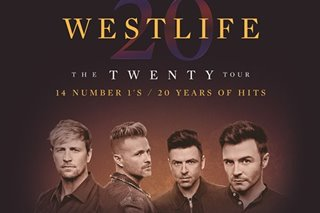 Westlife to return to PH in July for concert