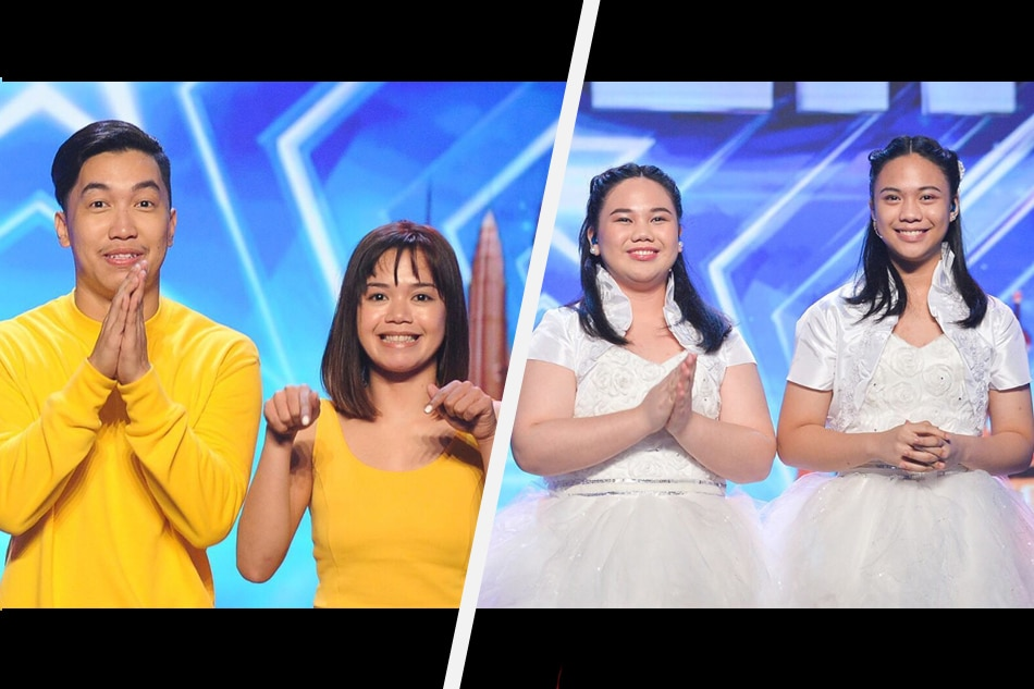 RECAP: 2 Pinoy acts vie for AGT finals spots
