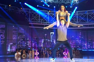 'World of Dance PH': Luka and Jenalyn earn standing ovation