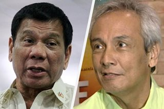 'Hala kaliit': Duterte twits Jim Paredes over video scandal