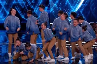 'That set the bar': Pinoy dance crew gets perfect 100 from 'World of Dance' judge