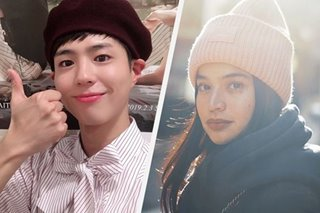 After postponement of fan meet, Park Bo Gum has message for Anne Curtis