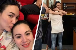 WATCH: Gretchen Barretto gets Mother's Day surprise from sister Claudine