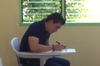 Richard Yap votes in Cebu City, eyes seat in Congress