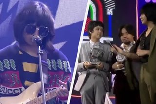 WATCH: Unique, IV of Spades take turns on MYX awards stage