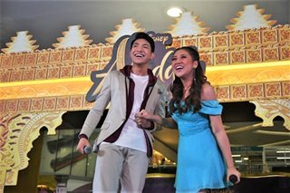 Morissette, Darren challenged to remake 'A Whole New World'