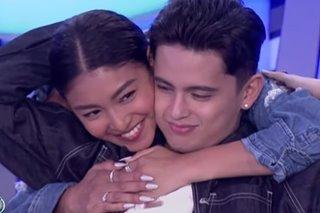 WATCH: Nadine visits James on 'Idol Philippines' set