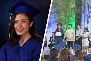 LOOK: Frankie Pangilinan graduates from high school