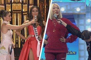 'Ganda ng suot, pinaghawak ng mic!' Vice Ganda spoofs Anne's trending Binibining Pilipinas moment
