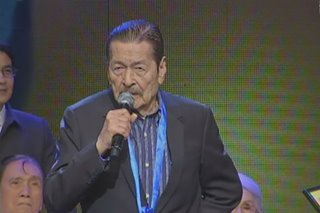WATCH: Eddie Garcia accepts award at 35th PMPC Star Awards for Movies