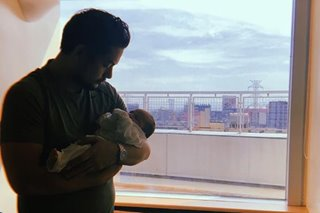 Geoff Eigenmann welcomes second child with Maya Flores